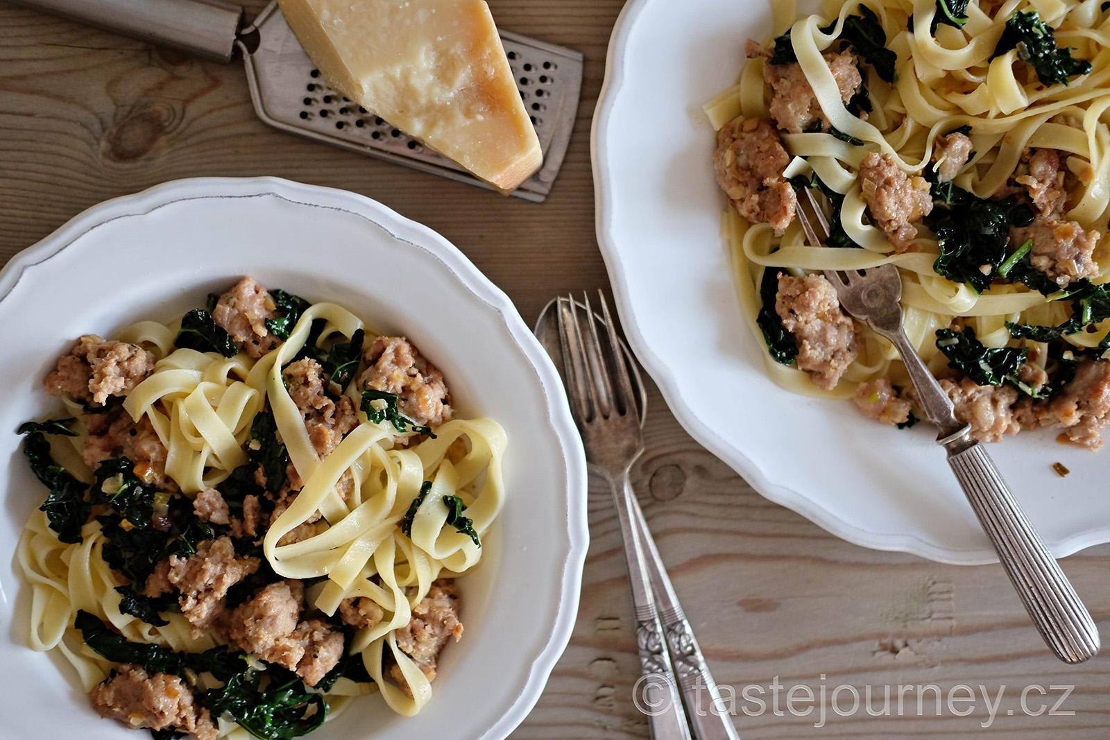 Jednoduché, přesto plnohodnotné a chutné jídlo italského střihu
