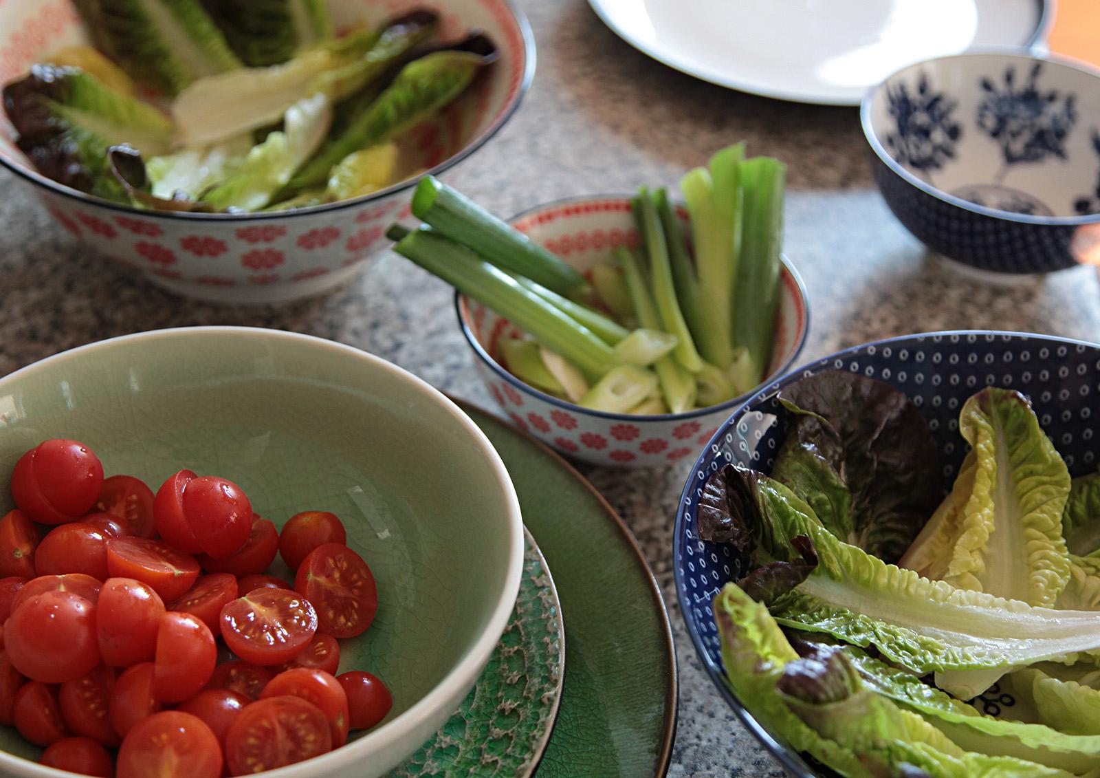 Občas delikátní thajská kuchyně používá i rajčátka