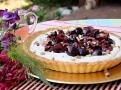 Ověžující třešňový koláč je pravou pochoutkou léta