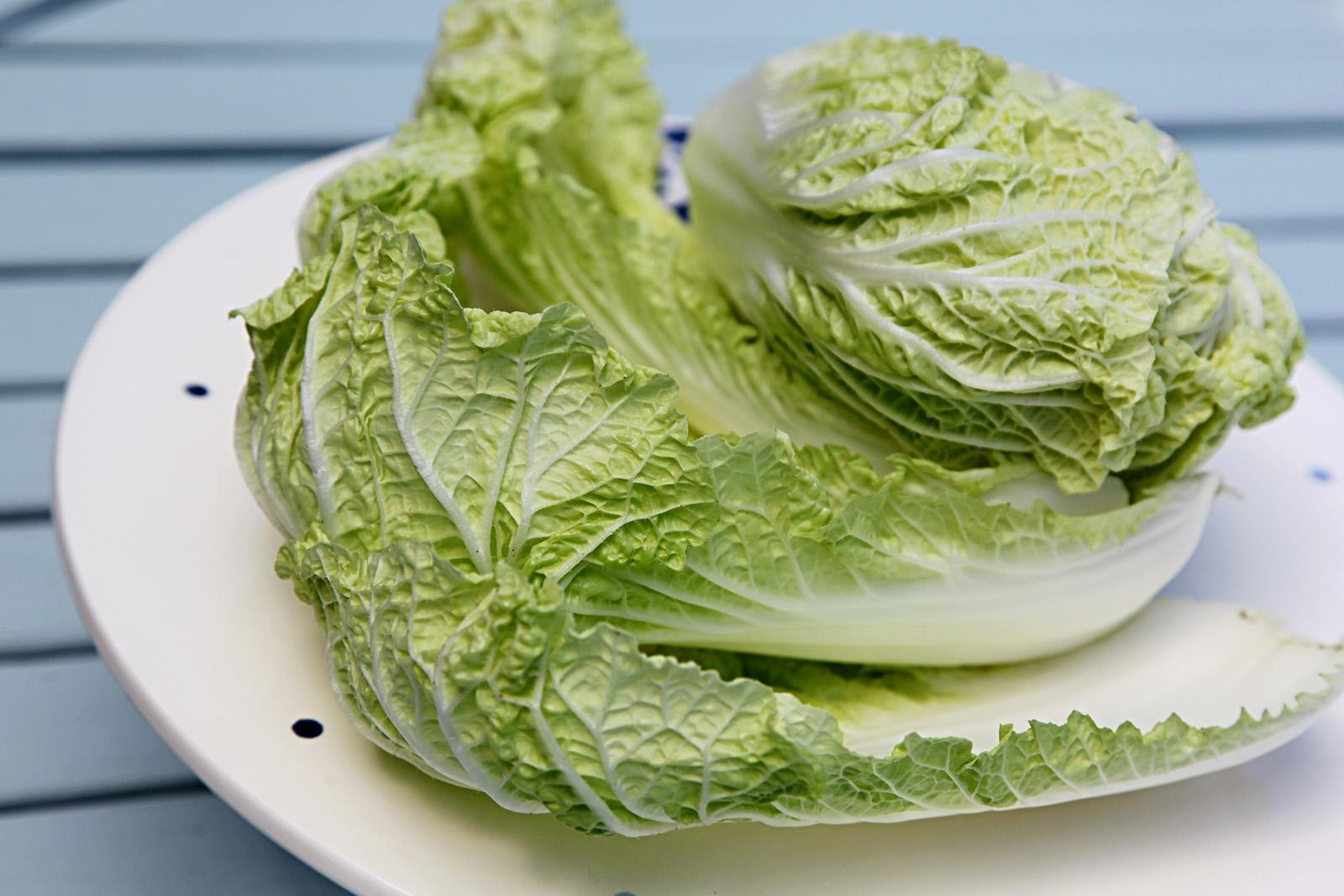 Čínské zelí na coleslaw