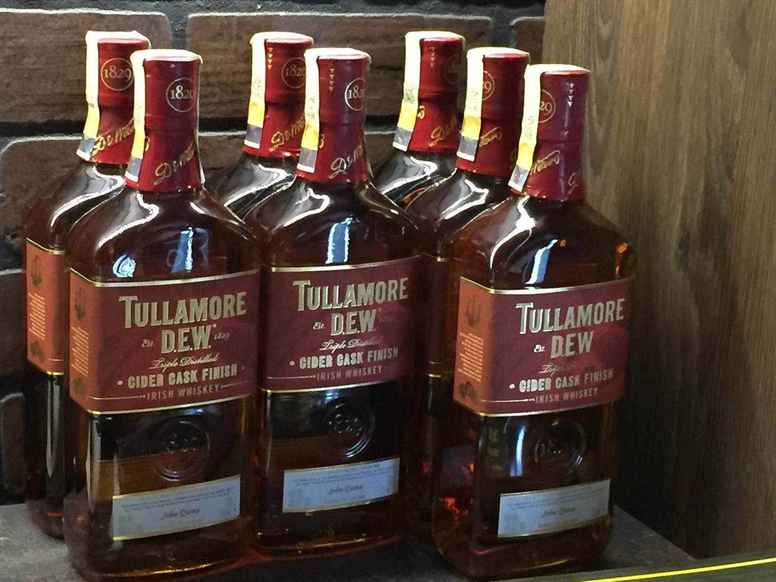 Nová limitovaná edice Tullamore D.E.W. Cider Cask