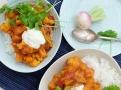 Ideální vegetariánské kari s tuřínem a vodnicí