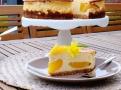 Pečený tvarohový dort ve stylu newyorského cheesecake