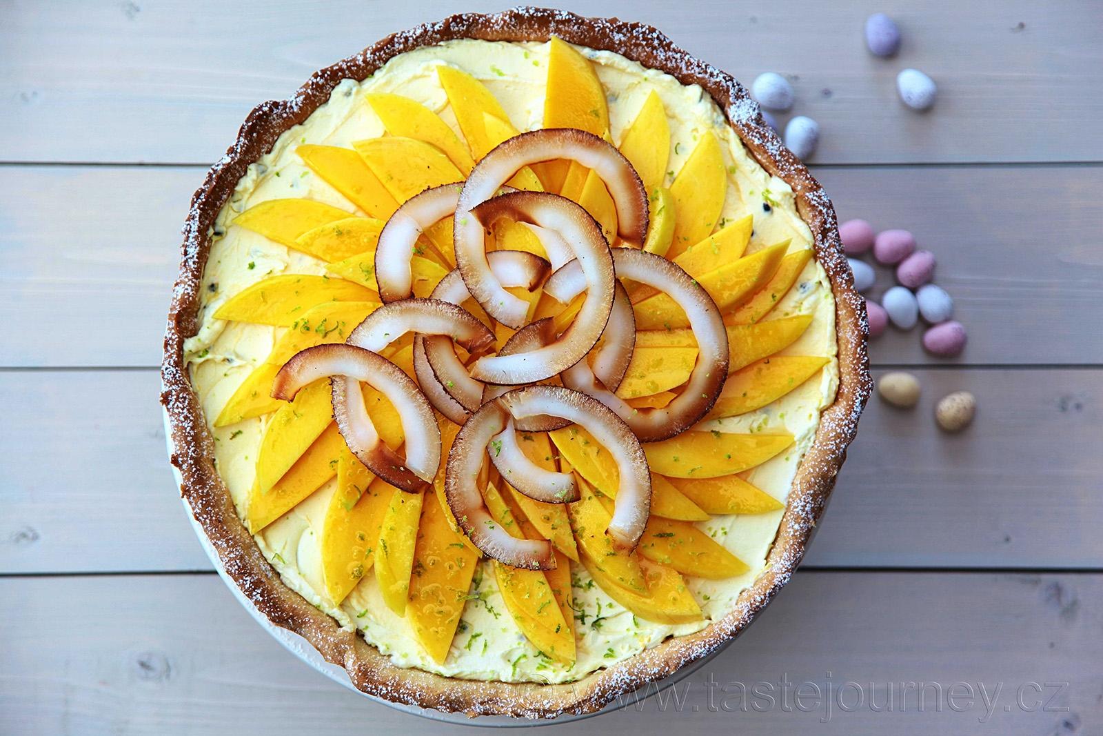 Tropický dort na Velikonoce rozzáří váš stůl