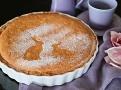 Křehký a vláčný dort ze sladkého máslového těsta s pomerančovou marmeládou