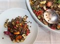 Čočkový teplý salát nejen pro vegetariány
