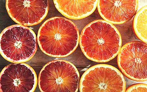 Krvavé pomeranče k dokonalému jarnímu probuzení.