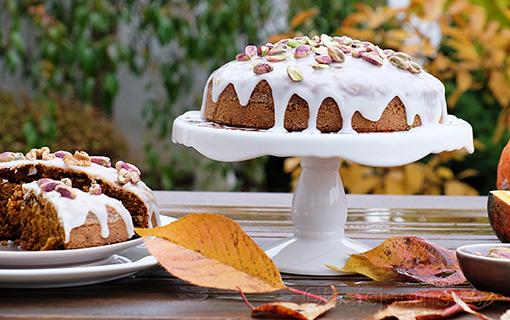 Mrkvový dort s dýní a ořechy je králem pohoštění Halloweenu