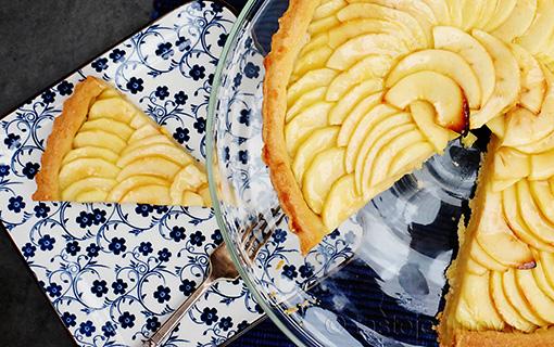 Křehké jablkové kouzlení ve francouzském stylu