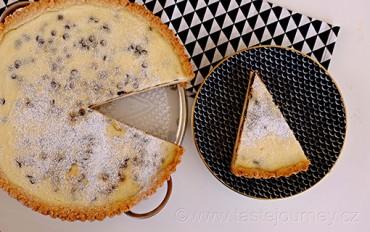 Jak sladce chutná Řím? Ricottový koláč s kousky čokolády je jednoduché potěšení