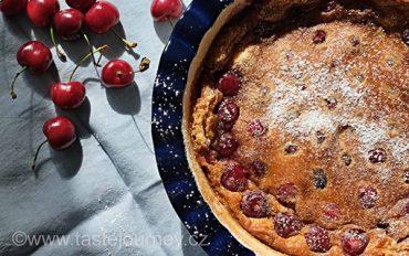 Clafoutis – koláč z Francie konkurující naší bublanině