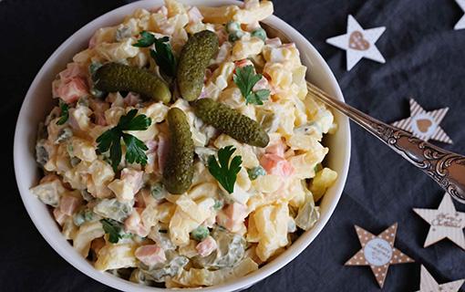 Vánoční bramborový salát s majonézou nebo bez? Nejlepší recept je ten váš