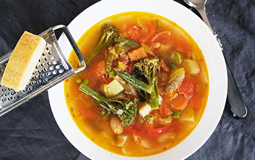 Minestrone – nejlepší polévka na světě, tvrdí Italové
