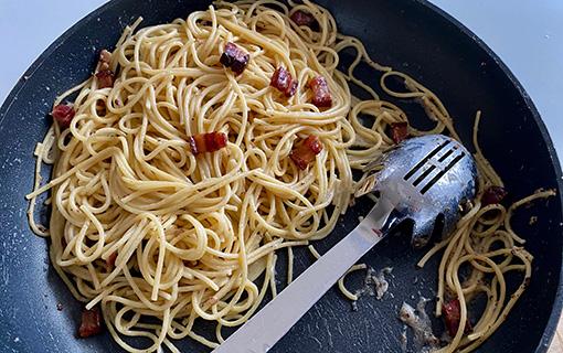 Spaghetti a lla gricia, aneb když pepř je jednou z chuťových hvězd